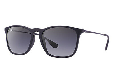 Ray-Ban RB4187 Chris 622/8G Black Frame/Grey Gradient Lens 54mm