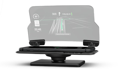 HUDWAY Glass — Head Up Display (HUD) Car GPS Navigation Projector Driving Gadget