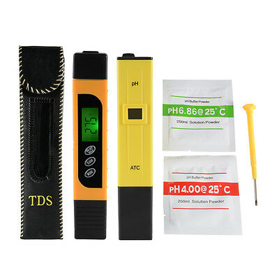 Digital pH Meter + LCD TDS Water Purity PPM Filter Hydroponic Tester Pen BI717
