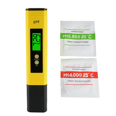 Electric Digital Ph Meter Tester Hydroponics Pen Aquarium Pool Water Test BI718