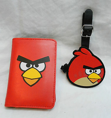 Angry Birds Passport Holder and Luggage Tag - BNIB - Official Licensed Product
