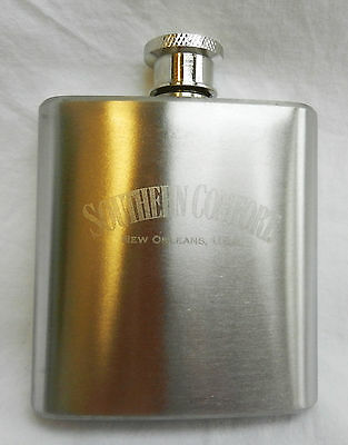 Stainless Steel Southern Comfort 3 Oz Hip Flask - BNIB