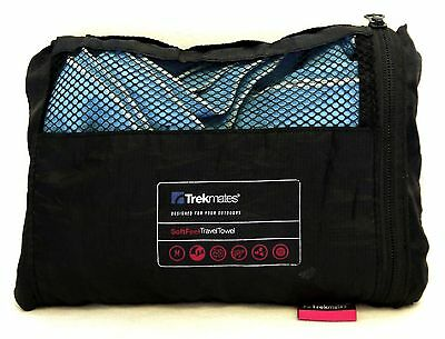 Trekmates Soft Feel Travel Towel : 49 by 36 Inches - Excellent