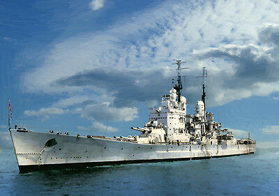 Hms Vanguard - Hand Finished, Limited Edition (25)