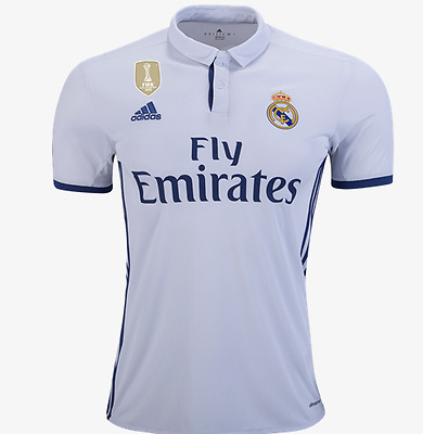 Real Madrid Home Jersey Authentic Adidas Champions League 2016/17