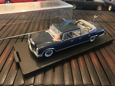 Mercedes-Benz 1/43 Scale 600 Limo 1960s