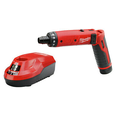 Milwaukee 210121 4V M4 1/4in. Hex Screwdriver w/ 2Ah RedLithium Battery New
