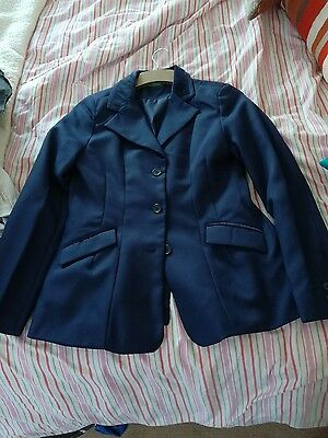 navy blue showing jacket