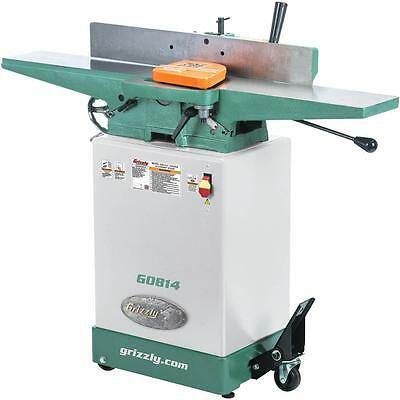 "G0814 Grizzly 6"" Jointer with Cabinet Stand"