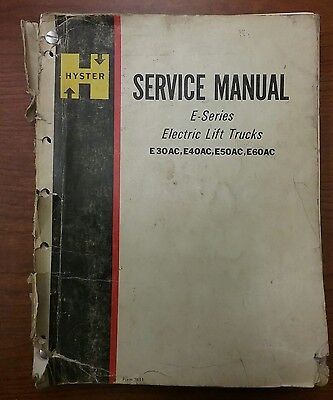 hyster 50 forklift service manual