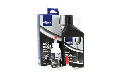 New Schwalbe Doc Blue Professional Tubeless Sealant 16oz 500ml by Stan's no-tube