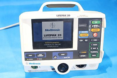 Physio-Control Lifepak 20 Biphasic 3 Lead ECG AED