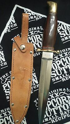 Rare Hoffritz Dagger Whith Sheath.made West Germany.vintage.collectable Knife.