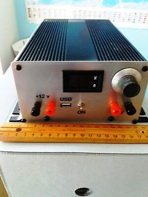 DC Power Supply Adjustable Variable Precision 0~22V 0~2A Lab Hand built