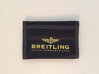Breitling Nylon Wallet- Black and Yellow- New in packaging