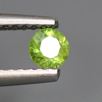 0.25 Cts_Stunning Very Rare Collection_100 % Natural Demantoid Garnet_Russia