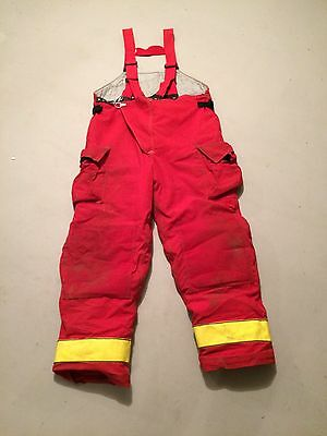 Firefighter Turnout Gear, Pants Only, Size 46
