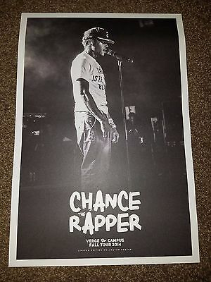CHANCE THE RAPPER Poster RARE tour concert poster