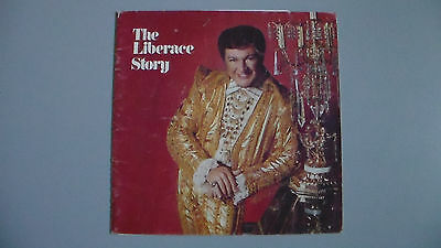 The Liberace Story Booklet & Concert Pamphlet