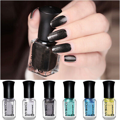 Charming Metallic Nail Polish Mirror Ultra Chrome Nail Art Varnish 10 Colors