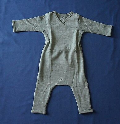 MERINO KIDS Merino Wool All-in-one, Mint, Size 0-3 months, NWT