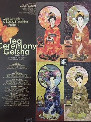 """Geisha Patterns - """"Tea Ceremony"""" and """"Cherry Blossom"""" By"""