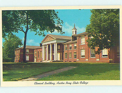 Chrome CLEMENT BUILDING AUSTIN PEAY STATE COLLEGE Clarksville Tennessee TN L8823
