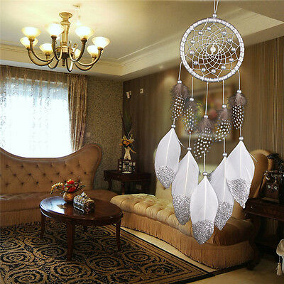 Relaxing Feather Windchime Wind Chimes Car Home Decor Dreamcatcher