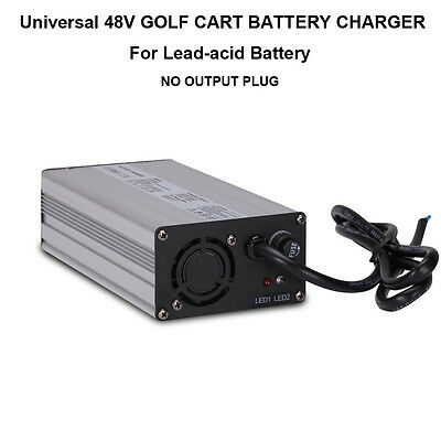 Universal 48V 5A GOLF CART BATTERY CHARGER NO PLUG FOR EZGO Club Car TXT Yamaha