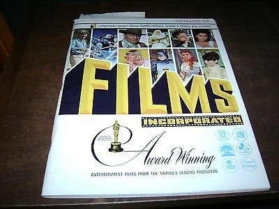 Films Incorporated Award Winning Movies Book/Catalog 1966