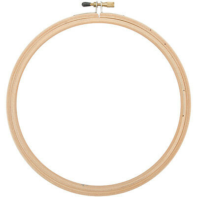 "Wood Embroidery Hoop W/Round Edges 7""  CNEH-7"