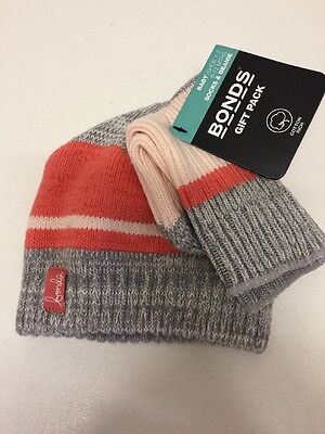 Bonds Gift Pack Socks And Beanie 6-12 Months