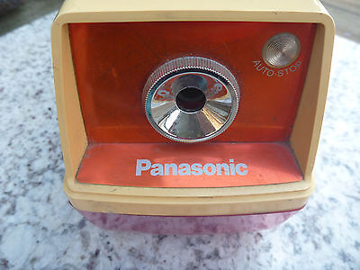 Panasonic Electric Pencil Sharpener  Auto Stop KP-33S Made in Japan