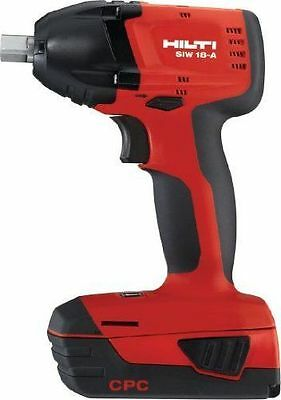 "HILTI SIW 18-A  18V CORDLESS IMPACT WRENCH 1/2"" NEW.(Tool Only)"