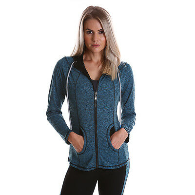 WOMENS Pullover Hoody long sleeve Jumper tops ladies Sweater Quality Gym Sport