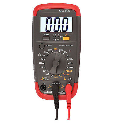 Digital Multimeter DMM Resistance Capacitance Inductance LCR Multi Meter Te W6P8