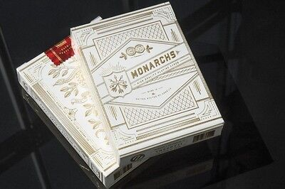White Gold Monarch *RARE* playing cards sealed