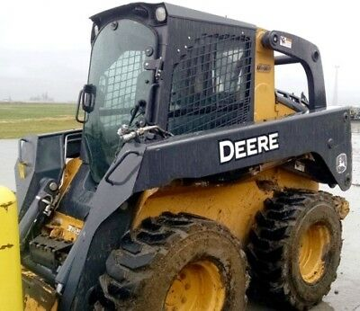 2012 John Deere 332D Skid Steer Loader