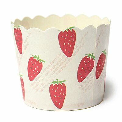 50 X Cupcake Paper Cases Liners Muffin Dessert Baking Cup F2M8 X5R3 D4T4 E7T3