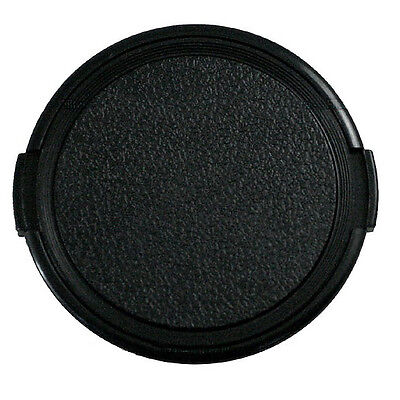 1pcs Universal 77mm Snap on Camera Front Lens Cap Plastic Black for DSLR Filter