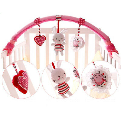 Crib Cot Pram Hanging Musical Soft Developmental For Baby Actvity Spiral Toy