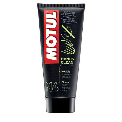 Motul M4 Hands Clean 100ml - Waterless, gently remove grease and oil