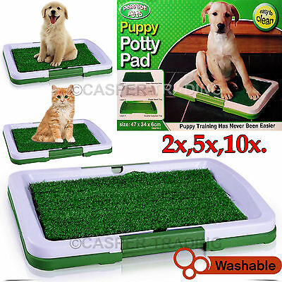 Puppy Potty Training Pad Mat Pet Toilet Trainer Dog Litter Tray Indoor House Lot