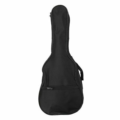 Ukulele Soft Comfortable Shoulder Back Carry Case Bag With Straps Black For B4U0