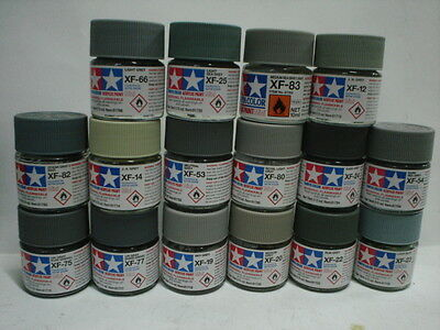 Tamiya Acrylic Paint - Set H - 16 Colori
