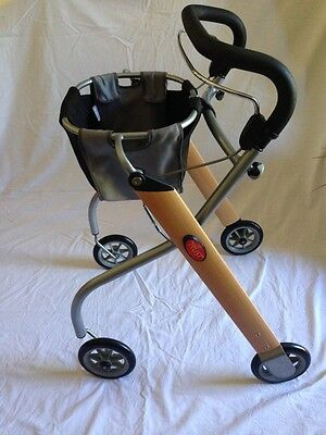 Walking Frame Rollator Lightweight Foldable Excellent Condition With Carry Bag