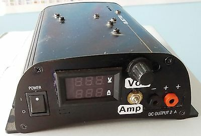 DC Power Supply Adjustable Variable Precision 0~15V 0~1A Lab Hand built