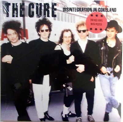 THE CURE 2LP VINYL - disintegration in cokeland - LIMITED EDITION + POSTER