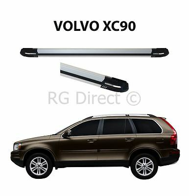 RB Style Aluminium side steps Running boards For Volvo XC90 2002-2015