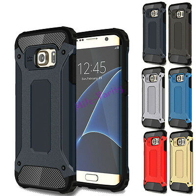 Hybrid Shockproof Hard Defender Armor Case For Samsung Galaxy S7 / S10 Plus S10E